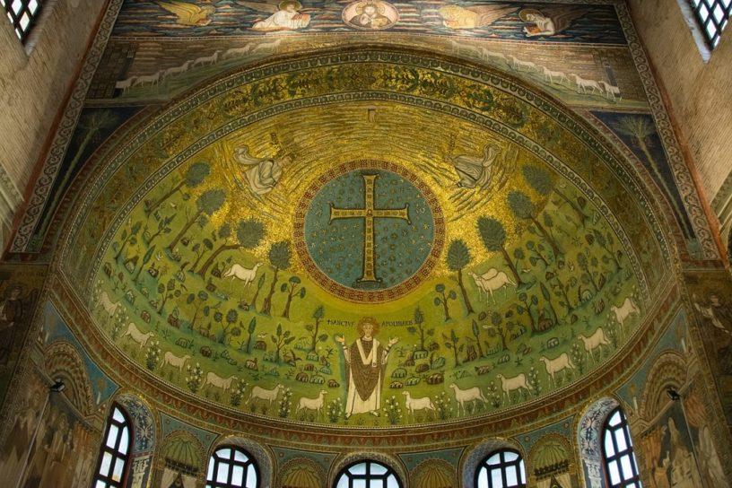 Crux Gemmata Basilica di Sant'Apollinare in Classe, Ravenna, Italy