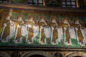 Mosaic panel Basilica di Sant'Apollinare (Ravenna, Emilia-Romagna)