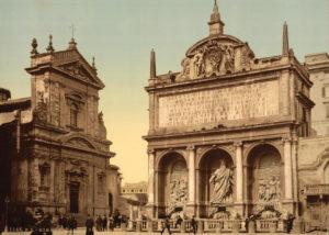 Fountain Acqua Felice, Rome, Italy