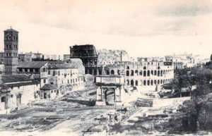 Roma Rome Italy Coloseum Arch of Titu