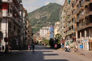 Salerno city Italy Metropolis