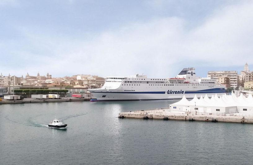 Salerno Italy port
