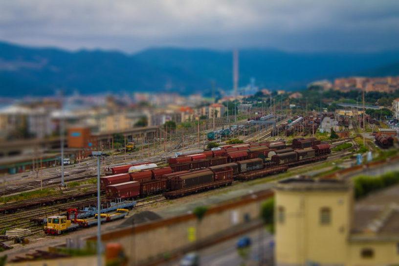 Savona train station italy