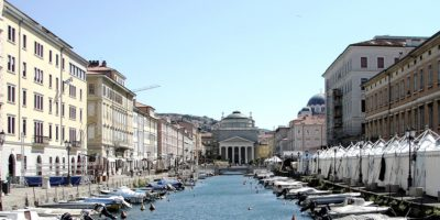 Trieste Italya Friuli Canale Grande, Trieste