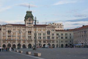 Trieste Italya Piazza Belediye