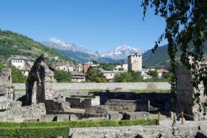 Valle d'Aosta Roma Arkeoloji