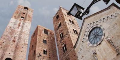 albenga, italy Torre del Municipio, Torre del Vecchio Comune Torre Costa towers