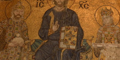 Hagia sophia mosaics, empress Zoe