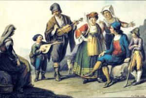 Traditional Basilicata costumes, Italy