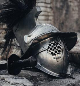 gladiator's helmet Rome