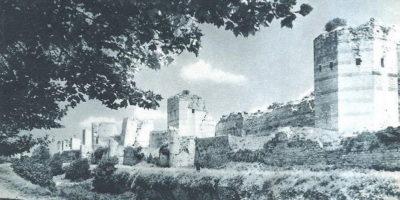 byzantine walls sonstantinople