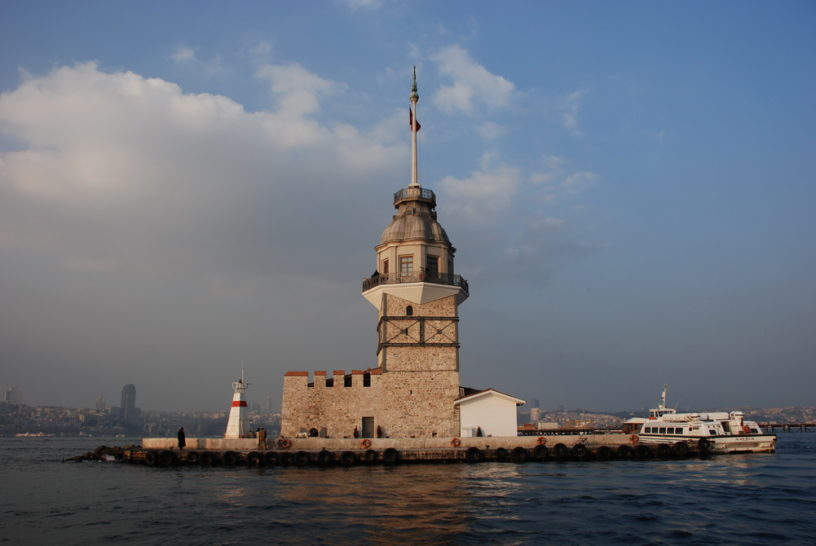 Maiden's Tower, Leander's Tower