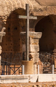 Cross at Colosseum, Rome