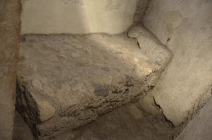 Pompeei stone bed