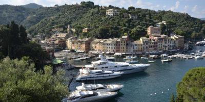 Portofino bay, Genoa Italy