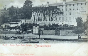 Summer Palace Otel, Therapia Istanbul vintage post card (Constantinople)