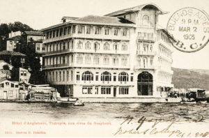 Hotel d'Angleterre, Therapia Bosphore (Istanbul) vintage post card