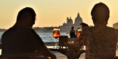 Venice spritz at sunset