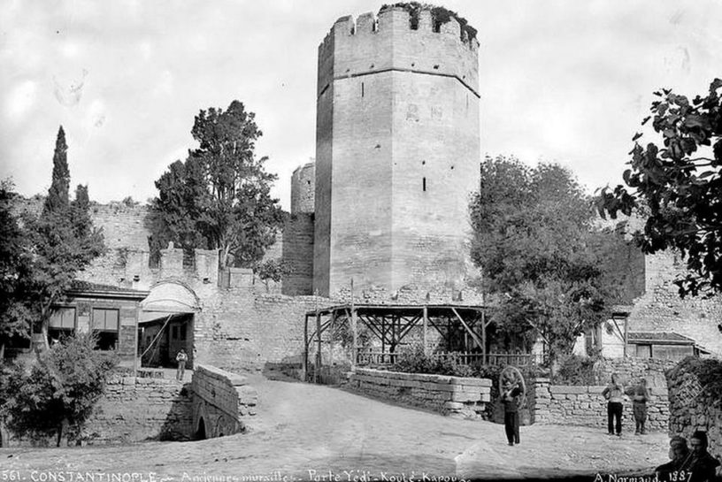 Yedikule Fortress, Κωνσταντινούπολη 1887
