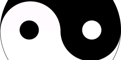 Symbols, yin and yang