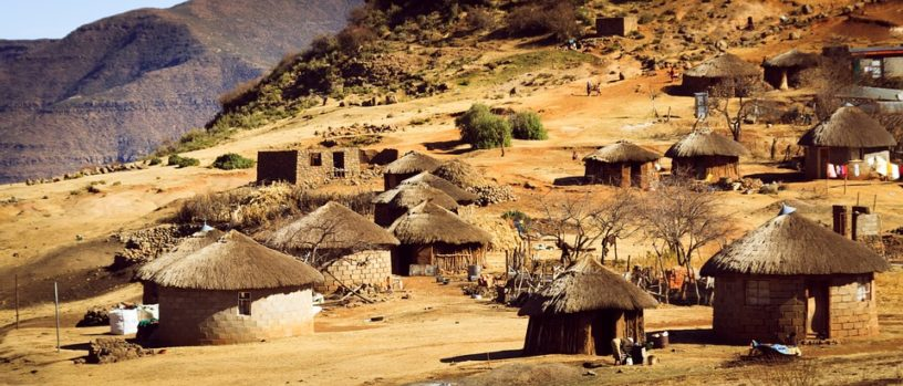 lesotho african houses