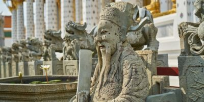 Southeast Asia temple mythology statues