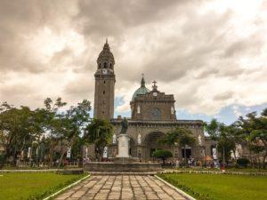 manila cathedral, Repúbliká ng Pilipinas Philippine Islands Philippines