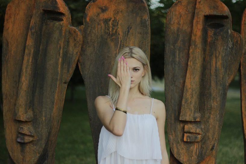 slavic mythology girl and the masks