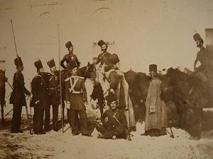 Don Cossacks on the Danubian front by Carol Szathmari.
