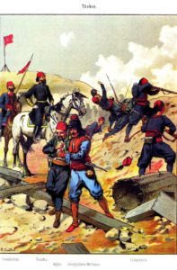 Ottoman Army: Cavalryman, Pasha, Rifleman, Irregular, Infantry