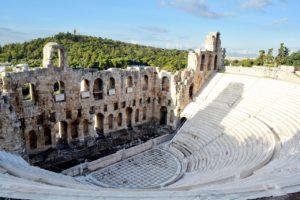 Dionysos theatre, Athena Acropolis Greece