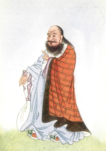 "Laozi (also Lao-Tzu /ˈlaʊˈdzʌ/[1] or Lao-Tze, Chinese: 老子; pinyin: Lǎozǐ, literally ""Old Master"") was an ancient Chinese philosopher and writer"