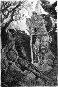 Völsunga saga the death of fafnir