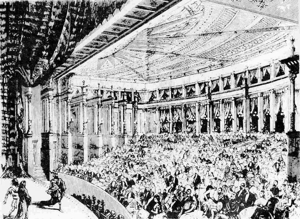 Bayreuth 1876, 1st performance of Rheingold