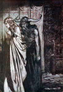 Hagen informs Brünnhilde of Siegfried's betrayal.