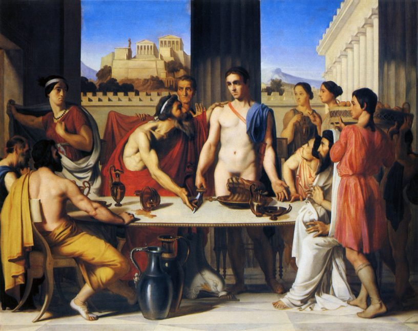 Theseus Recognized by his Father Aeacus