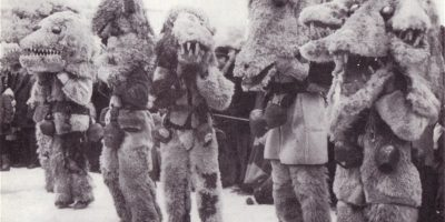 Kukeri masks from Pernik, Southwest Bulgaria