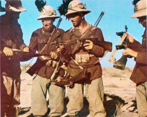 italian army at Africa